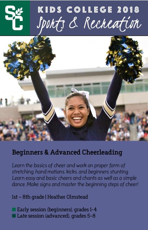 Kids College Cheerleading