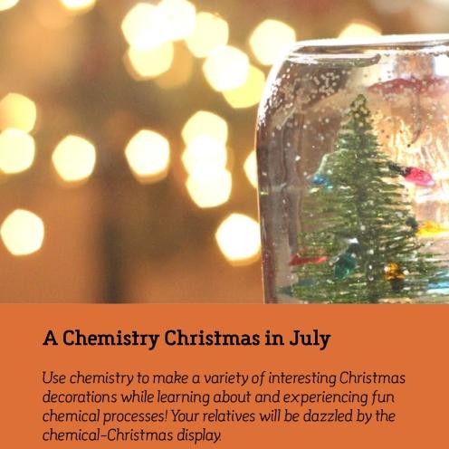 Kids College Chemistry Christmas
