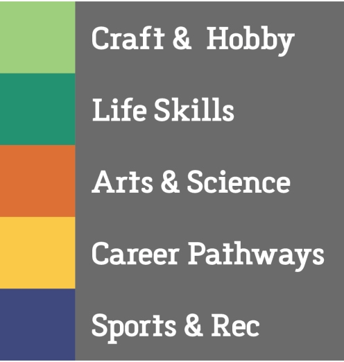 Kids College WP categories art