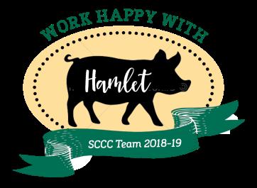 Hamlet Silhouette Badge