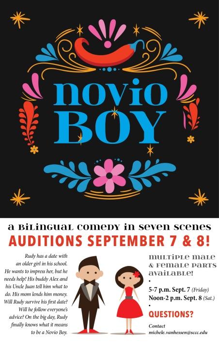 Novio Boy audition attachment