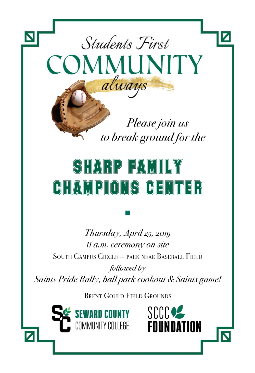 Champions Center invite for DIGITAL sharing