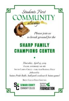 Champions Center invite